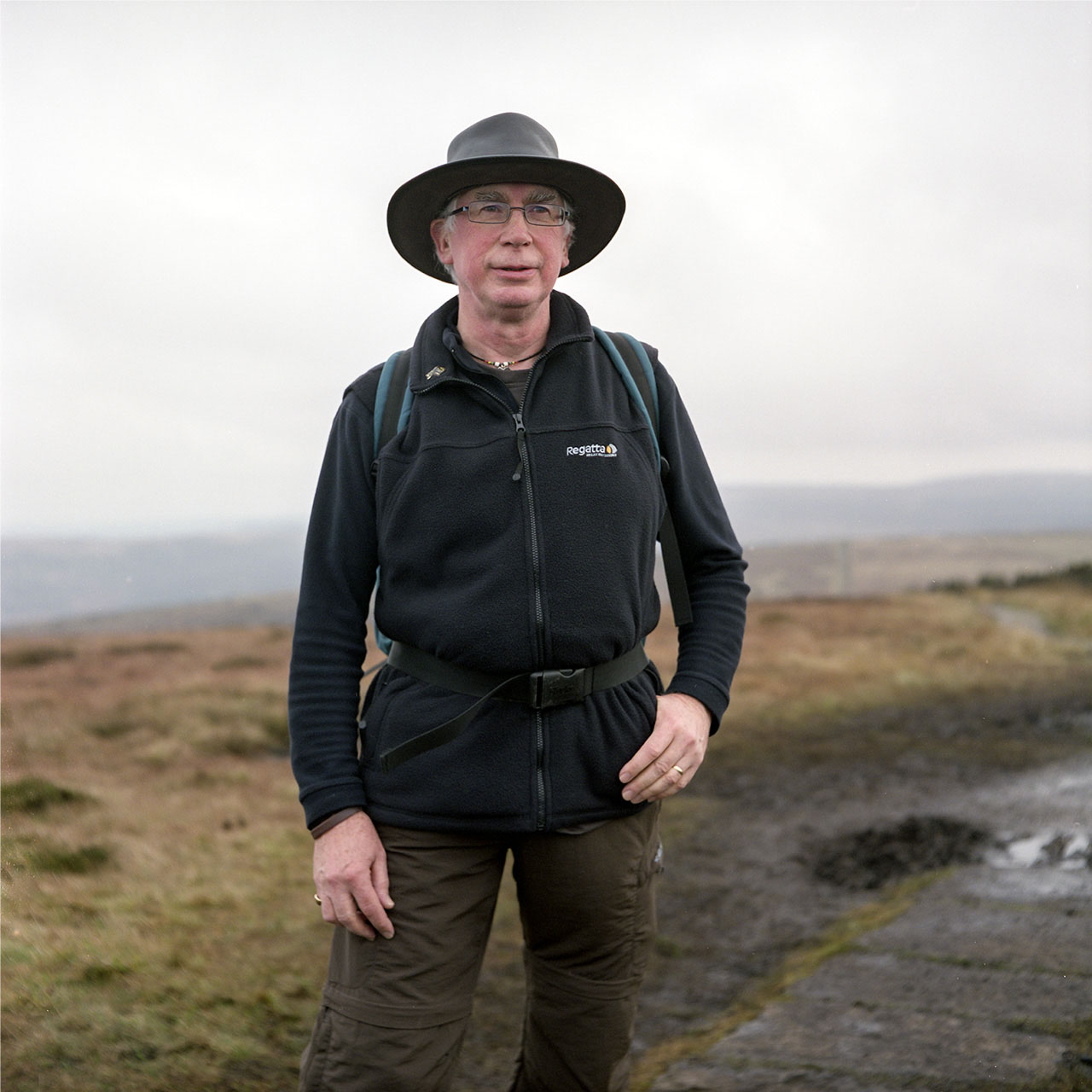 Peter at Shinning Tor